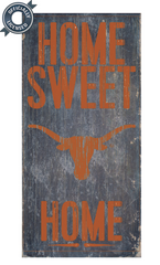 Officially Licensed Texas Football Home Sweet Home Sign