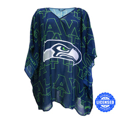 Just Released!  Officially Licensed Seattle Seahawks Trace Caftan 2017 Edition