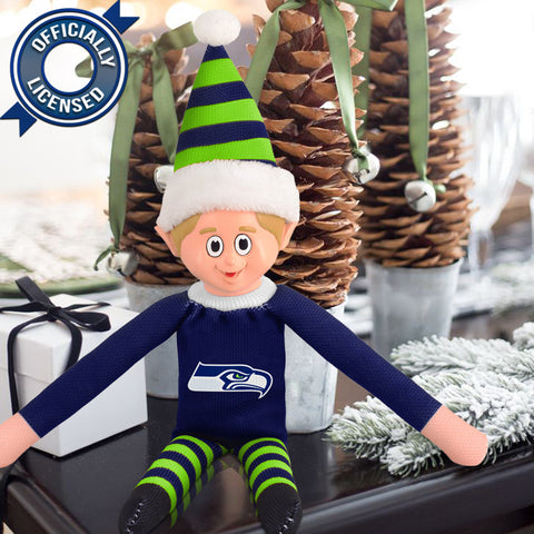 Limited Edition Seattle Seahawks Plush Elf