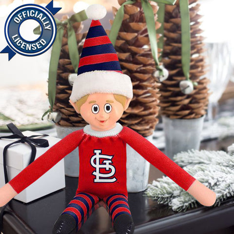Limited Edition St. Louis Cardinals Plush Elf
