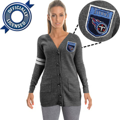 Officially Licensed Tennessee Titans Cardigan
