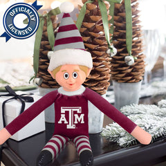 Limited Edition Texas A&M Plush Elf