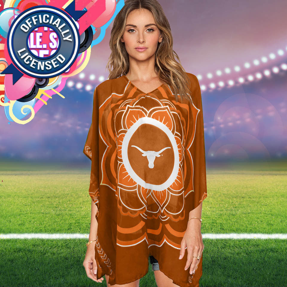 Limited Edition, Officially Licensed Texas Longhorns Caftan
