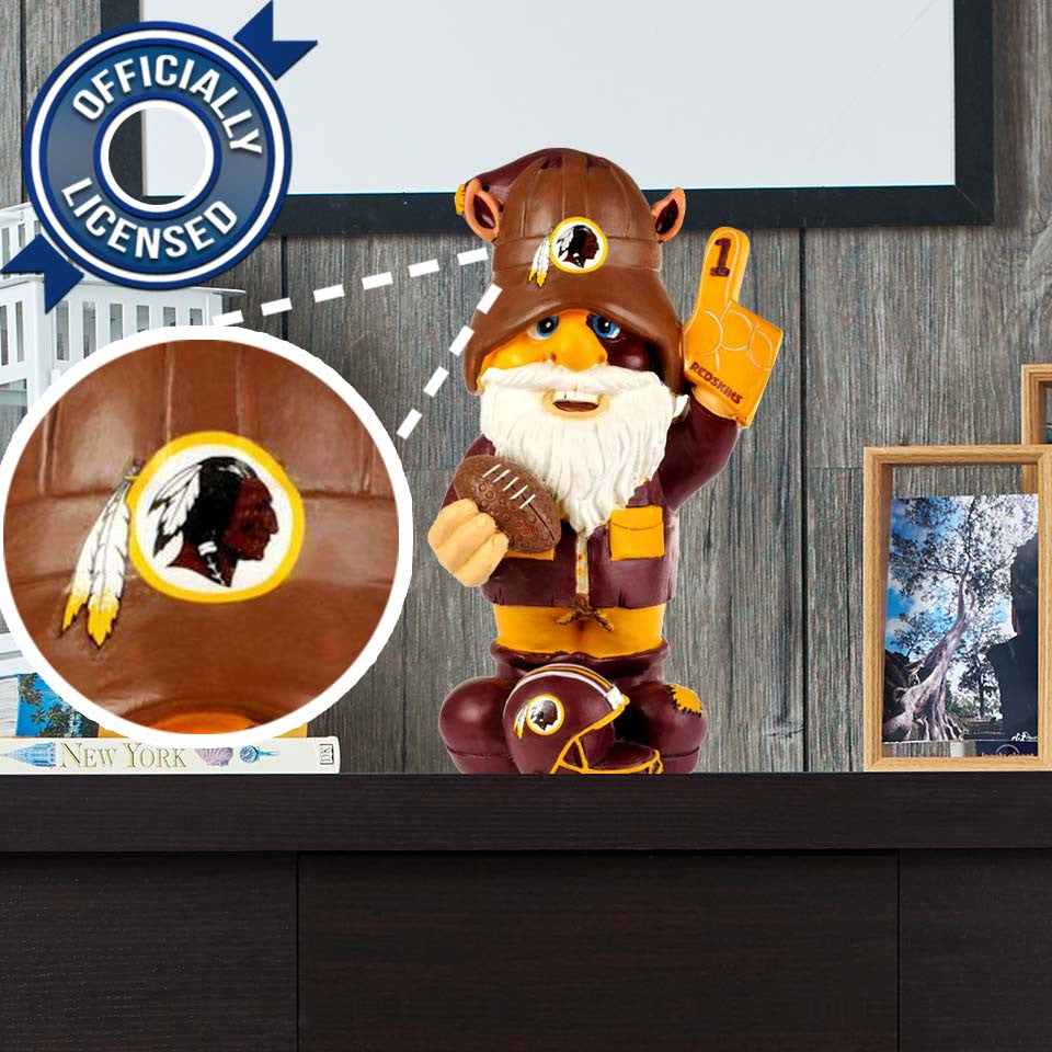 Officially Licensed Washington Redskins Gnome