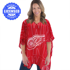 Just Released!  Officially Licensed Detroit Redwings Trace Caftan 2017 Edition