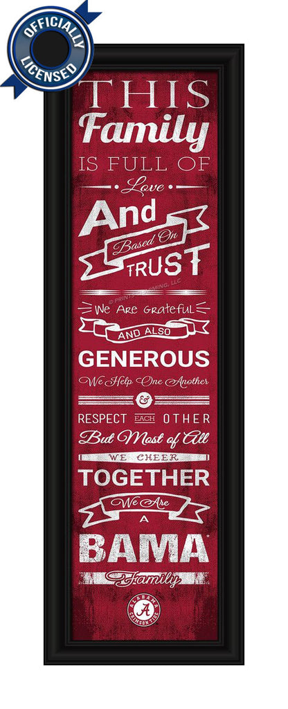 Bama Family Cheer Print