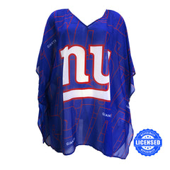 Just Released!  Officially Licensed New York Giants Trace Caftan 2017 Edition