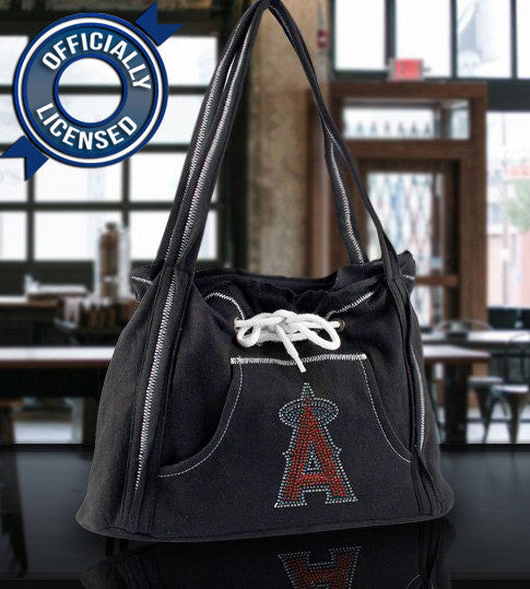 Officially Licensed Angels Hoodie Purse (Black)