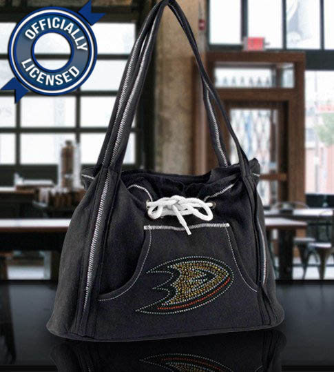 Officially Licensed Ducks Hoodie Purse (Black)