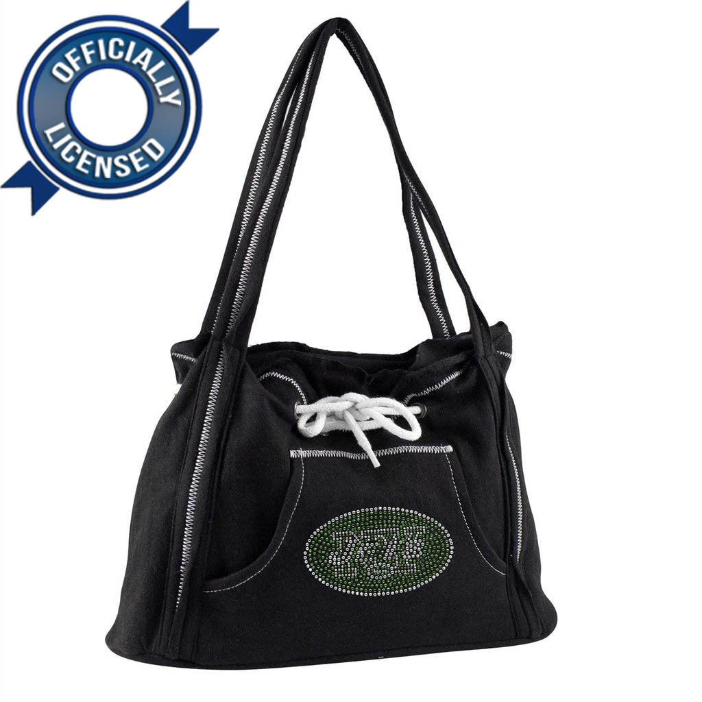 Officially Licensed Jets Hoodie Purse (Black)