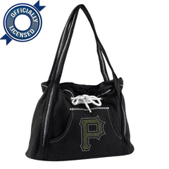 Officially Licensed Pirates Hoodie Purse (Black)