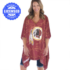 Just Released!  Officially Licensed Washington Redskins Trace Caftan 2017 Edition