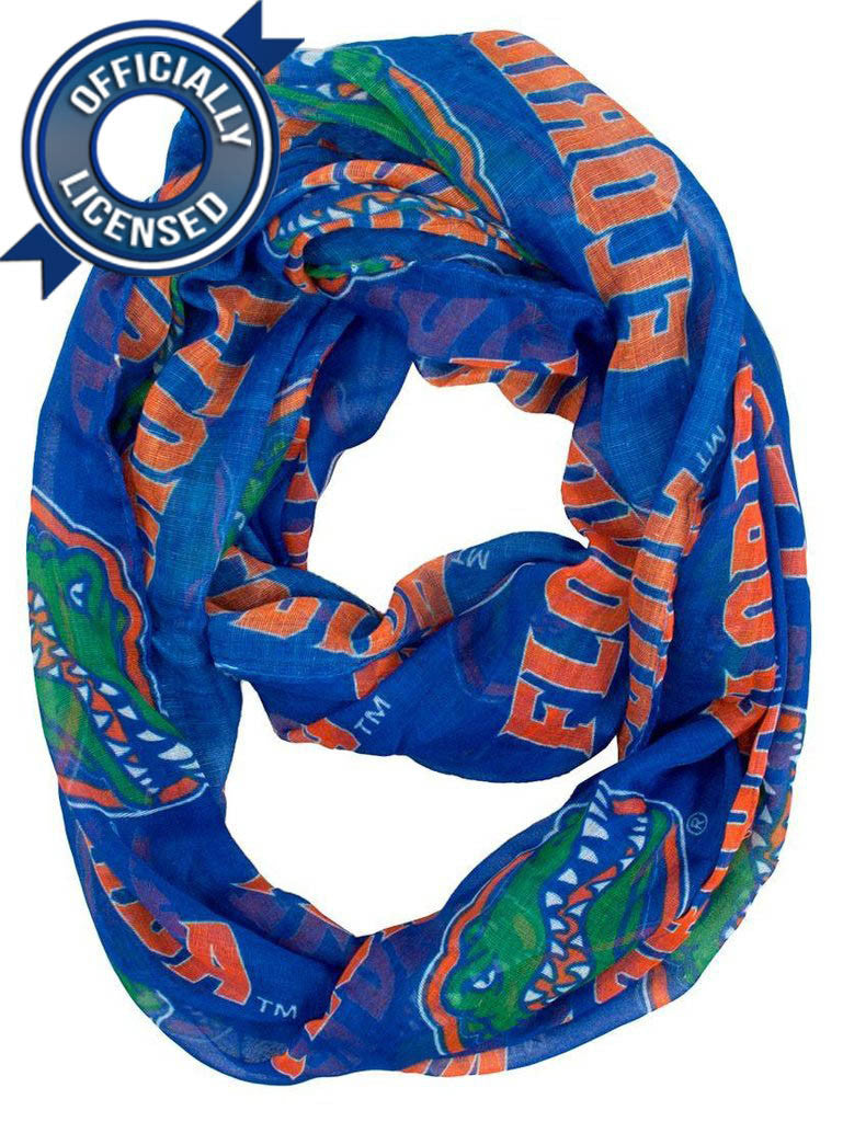 Officially Licensed Gators Infinity Scarf