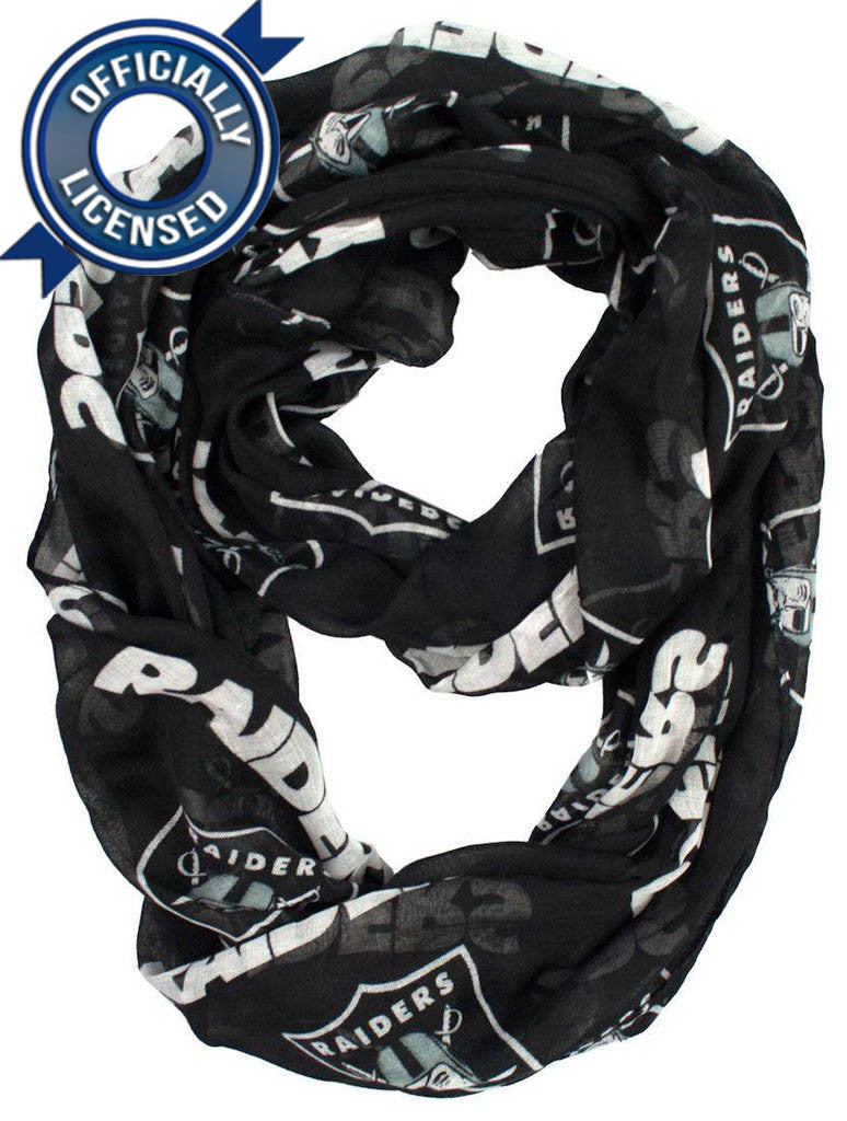 Officially Licensed Raiders Infinity Scarf