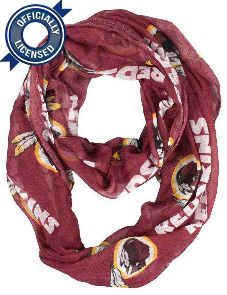 Officially Licensed Redskins Infinity Scarf