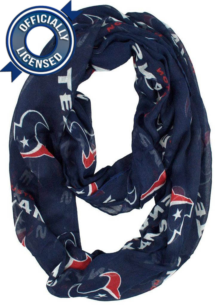 Officially Licensed Texans Infinity Scarf