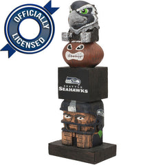 Officially Licensed Seattle Seahawks Tiki Totem