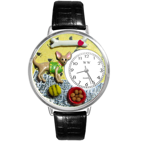 Hand-crafted Custom Chihuahua Watch