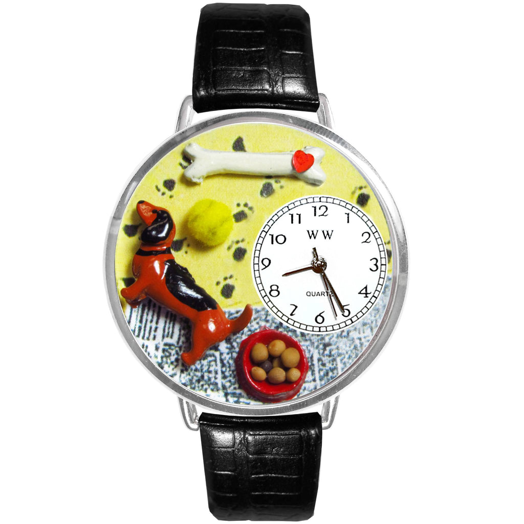 Watch - Hand-crafted Custom Dachshund Watch