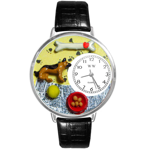 Hand-crafted Custom German Shepherd Watch