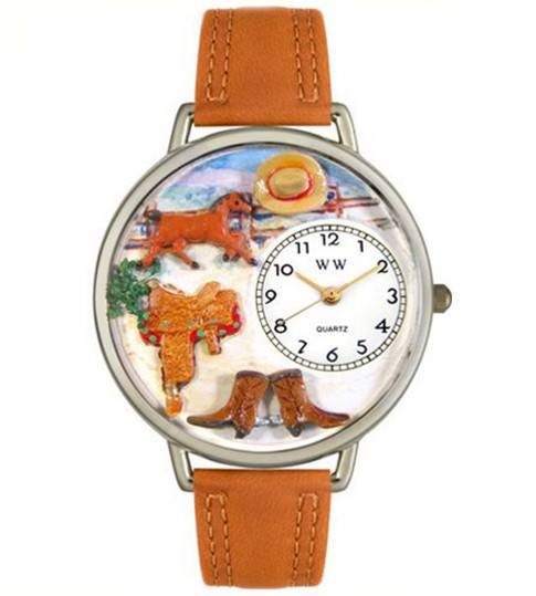 Watch - Hand-crafted Custom Horse Watch