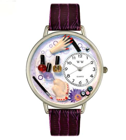 Watch - Hand-crafted Custom Nail Tech Watch