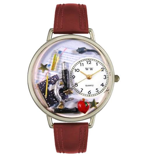 Watch - Hand-crafted Custom Science Teacher Watch