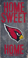 Wood Sign - Officially Licensed Arizona Football Home Sweet Home Sign