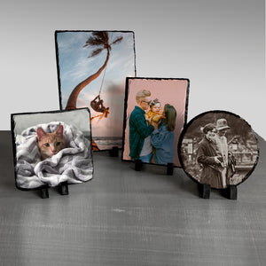 Custom Photo Stone Plaques