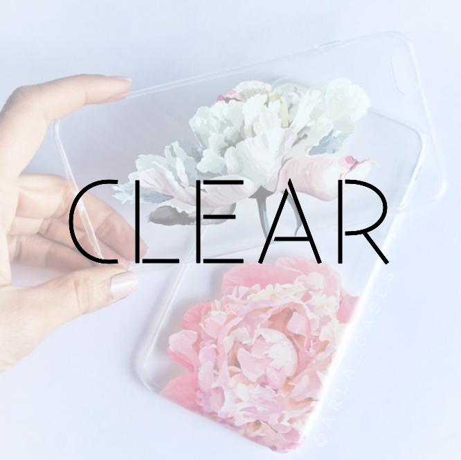 02 CLEAR PHONE CASES WITH PRINT