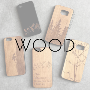 01 ENGRAVED WOOD PHONE CASES