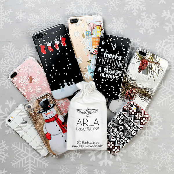 Dreamy Christmas Village Phone Case