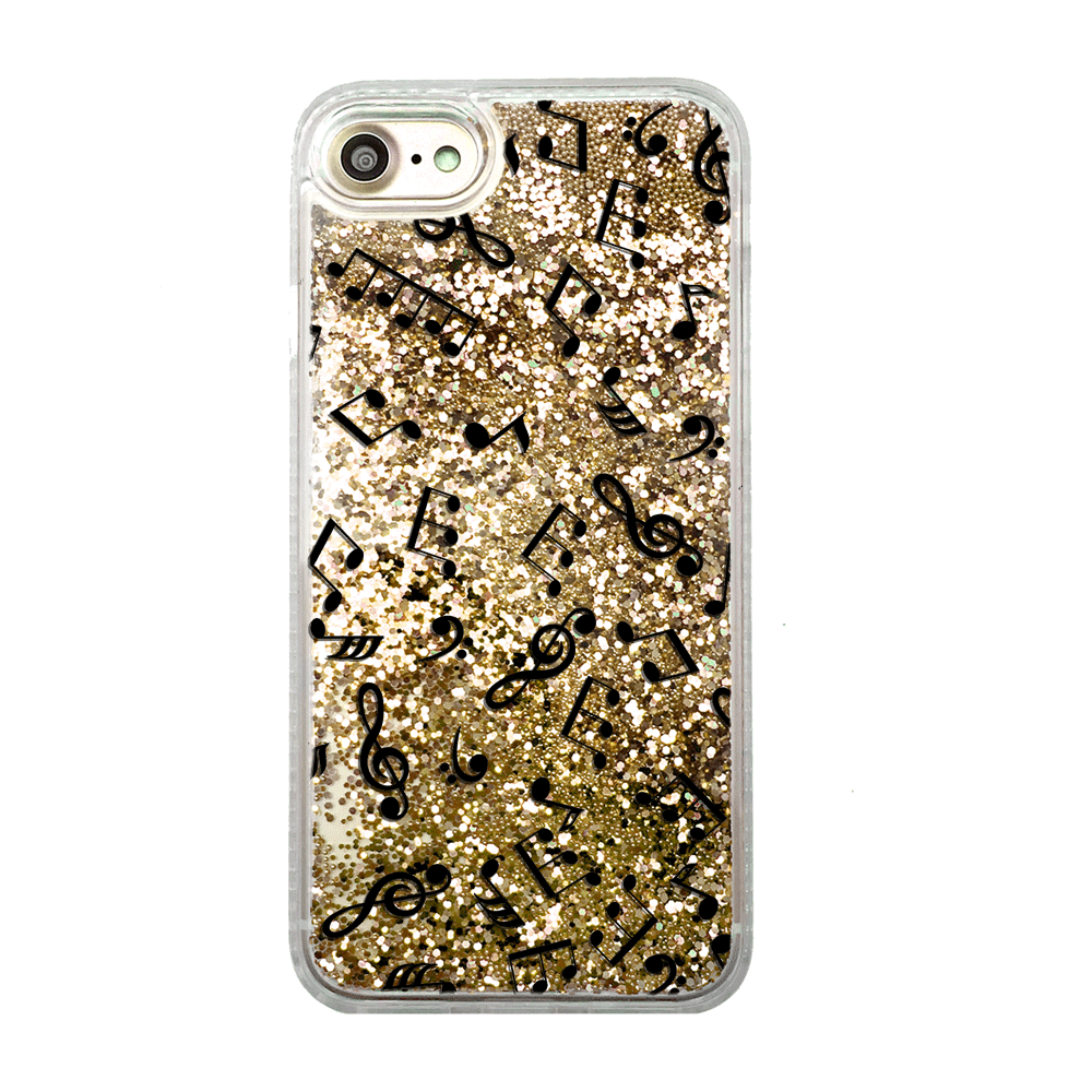 check out 31255 cf411 Music Notes Gold Glitter Phone Case