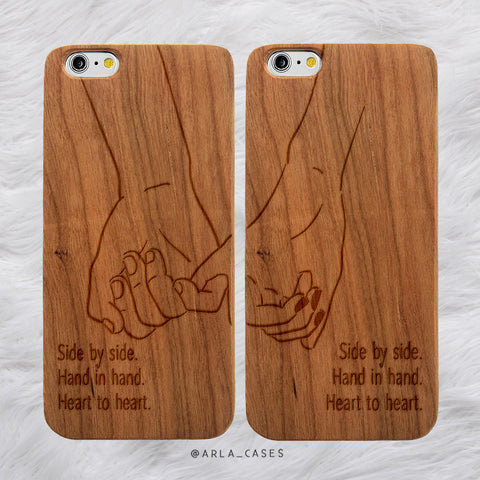 Pinky Promise Couples Phone Case Set