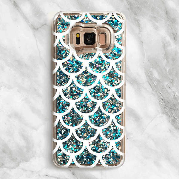 Mermaid Tail - Glitter Samsung Galaxy Case
