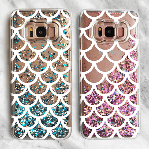 Mermaid Liquid Glitter Samsung Galaxy Case