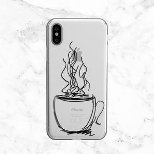 Coffee Cup Doodle Phone Case