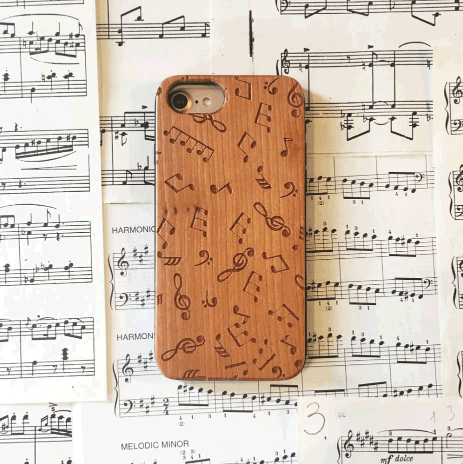 Music Notes Phone Cases