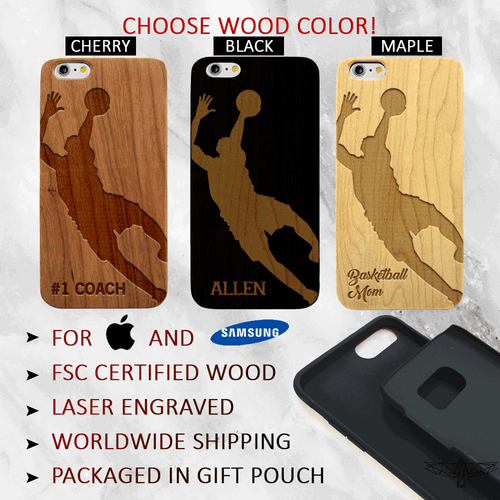 Custom Basketball Phone Case
