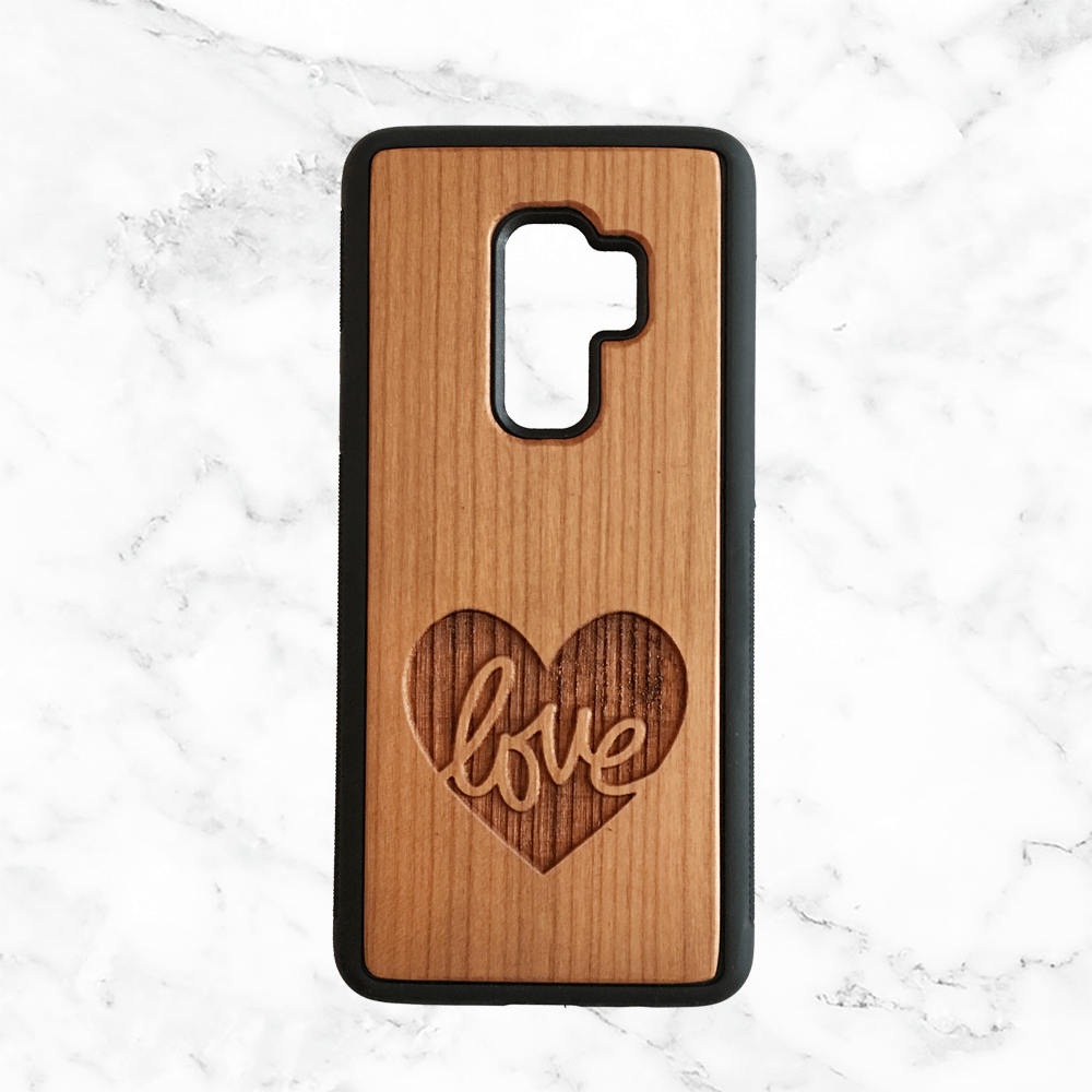 Love Wood Phone Case