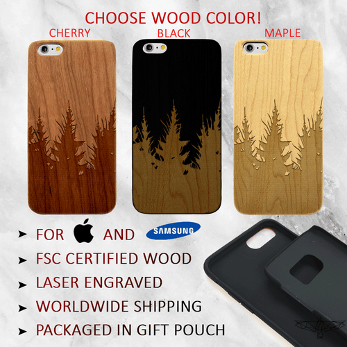 Forest Trees Wood Phone Case