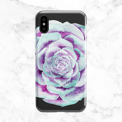 Vintage Roses and Flowers - Clear TPU Case