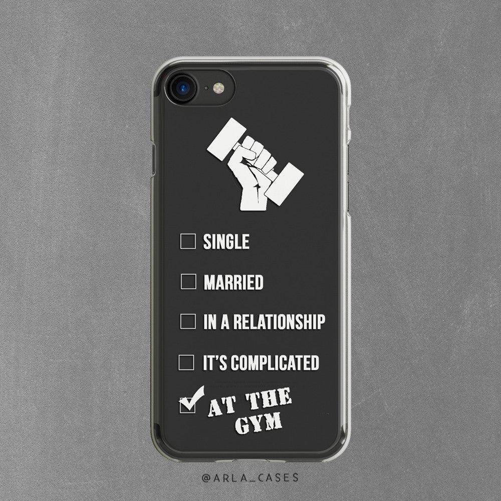 Gym Lover - Clear TPU Phone Case