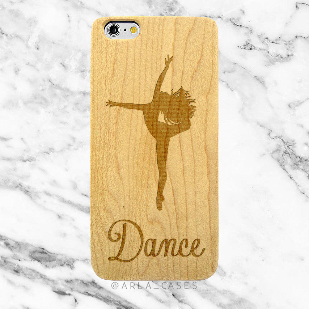 Dance on Wood iPhone Case