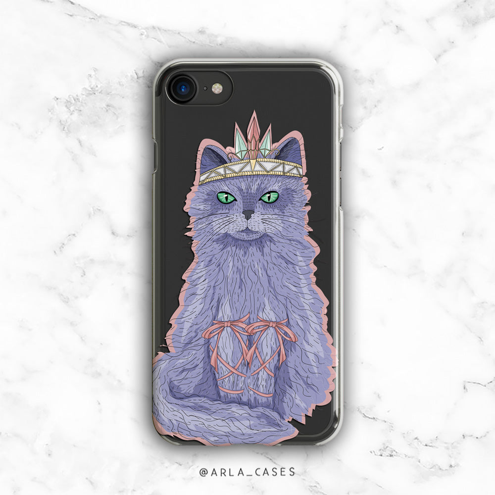 Boho Cat iPhone Case
