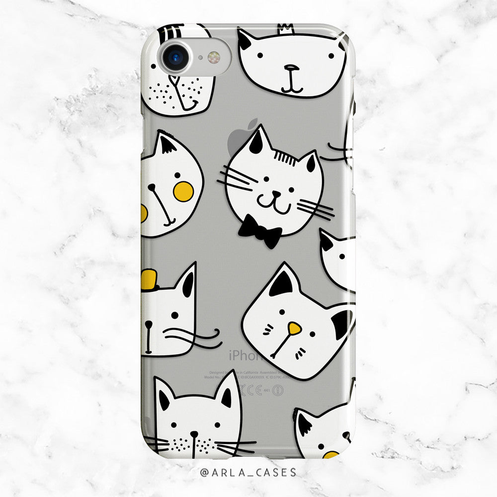 Fancy Cat iPhone Case