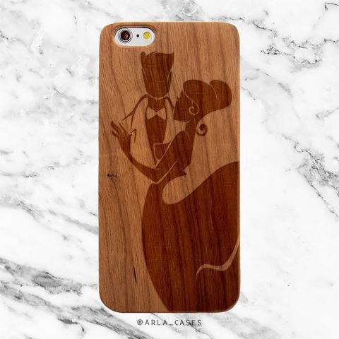Bride Wood iPhone and Galaxy Phone Case