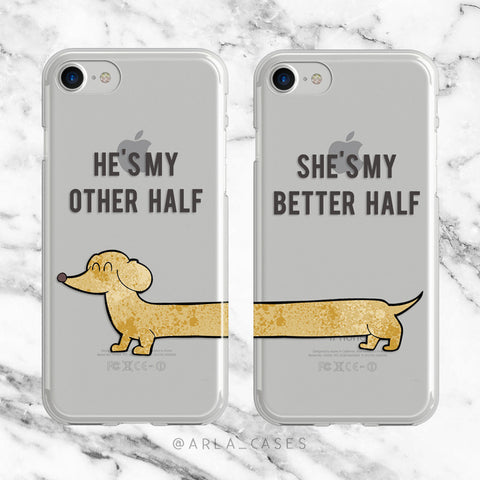 Better Half Phone Case Set