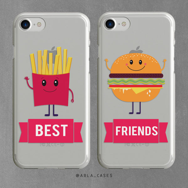 Best Friends Burger and Fries Set