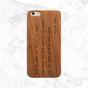 William Blake Quote Phone Case